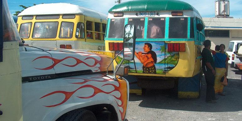 Car hire Samoa alternative